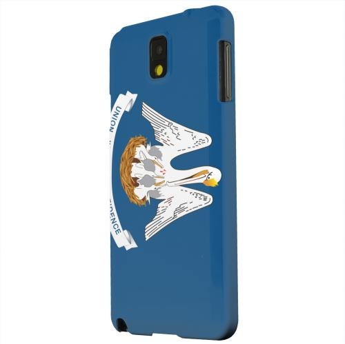 Geeks Designer Line (GDL) Samsung Galaxy Note 3 Matte Hard Back Cover - Louisiana