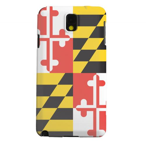 Geeks Designer Line (GDL) Samsung Galaxy Note 3 Matte Hard Back Cover - Maryland