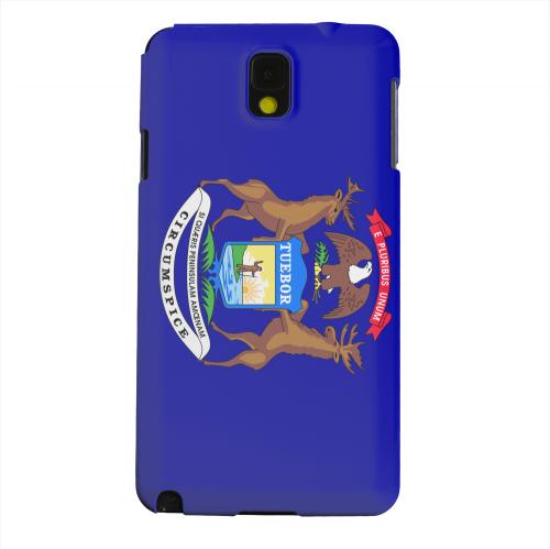 Geeks Designer Line (GDL) Samsung Galaxy Note 3 Matte Hard Back Cover - Michigan
