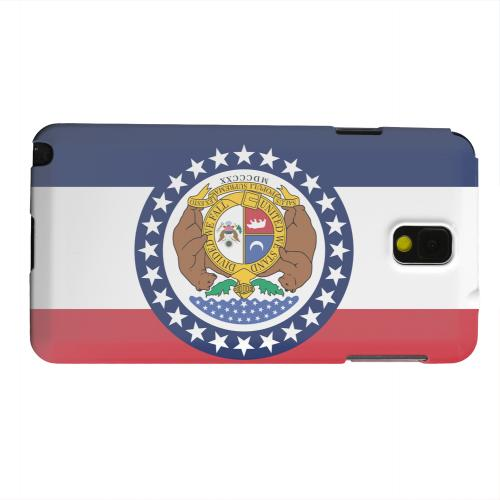 Geeks Designer Line (GDL) Samsung Galaxy Note 3 Matte Hard Back Cover - Missouri
