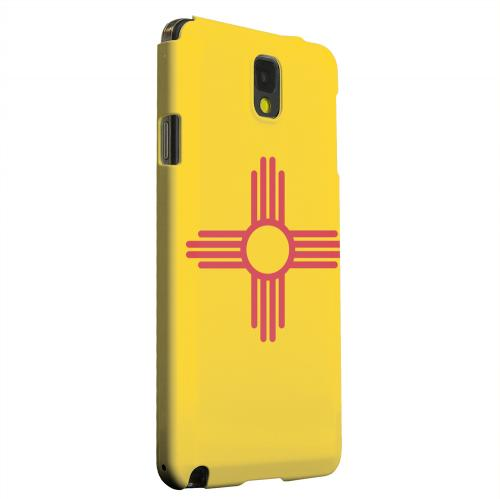 Geeks Designer Line (GDL) Samsung Galaxy Note 3 Matte Hard Back Cover - New Mexico