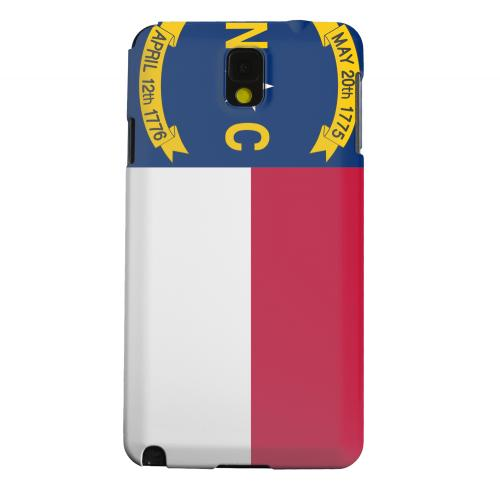 Geeks Designer Line (GDL) Samsung Galaxy Note 3 Matte Hard Back Cover - North Carolina