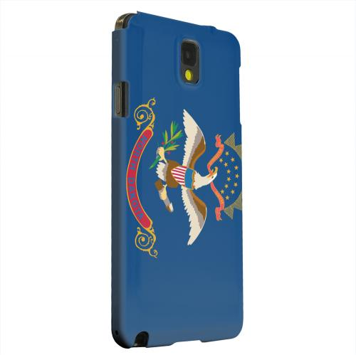 Geeks Designer Line (GDL) Samsung Galaxy Note 3 Matte Hard Back Cover - North Dakota