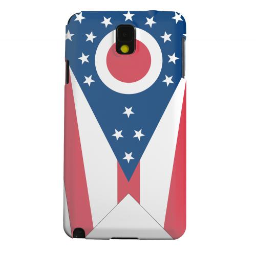 Geeks Designer Line (GDL) Samsung Galaxy Note 3 Matte Hard Back Cover - Ohio