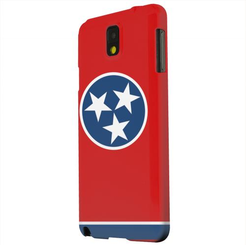Geeks Designer Line (GDL) Samsung Galaxy Note 3 Matte Hard Back Cover - Tennessee