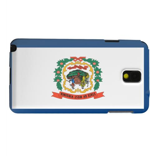 Geeks Designer Line (GDL) Samsung Galaxy Note 3 Matte Hard Back Cover - West Virginia