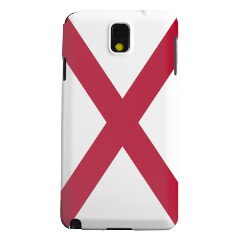 Geeks Designer Line (GDL) Samsung Galaxy Note 3 Matte Hard Back Cover - Alabama