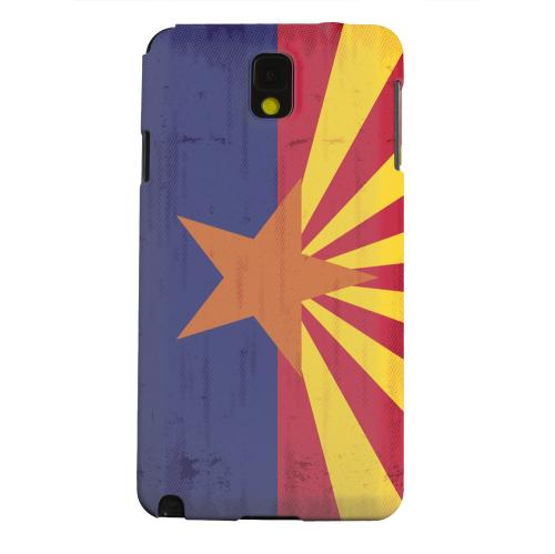 Geeks Designer Line (GDL) Samsung Galaxy Note 3 Matte Hard Back Cover - Grunge Arizona
