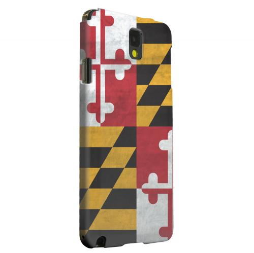 Geeks Designer Line (GDL) Samsung Galaxy Note 3 Matte Hard Back Cover - Grunge Maryland