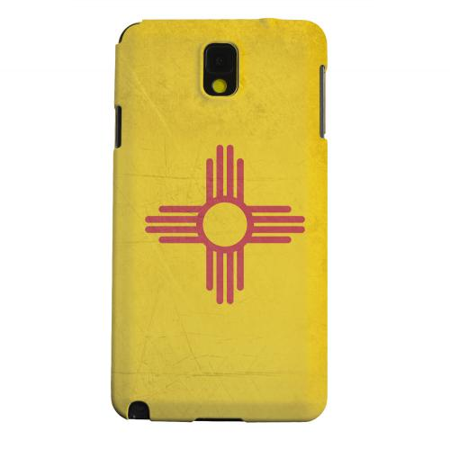 Geeks Designer Line (GDL) Samsung Galaxy Note 3 Matte Hard Back Cover - Grunge New Mexico