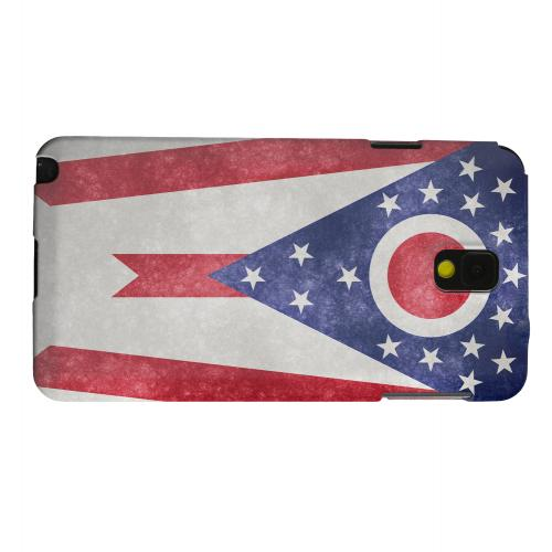 Geeks Designer Line (GDL) Samsung Galaxy Note 3 Matte Hard Back Cover - Grunge Ohio