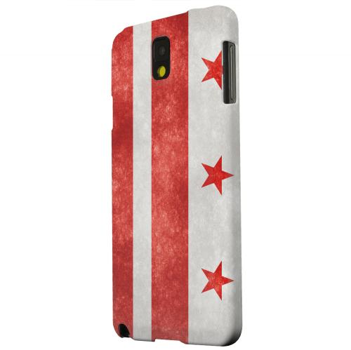 Geeks Designer Line (GDL) Samsung Galaxy Note 3 Matte Hard Back Cover - Grunge Washington, D.C.