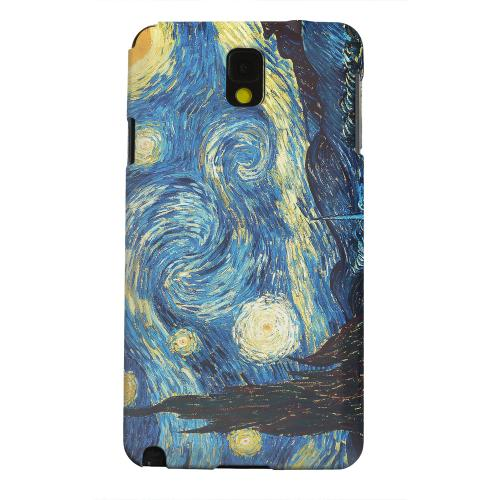 Geeks Designer Line (GDL) Samsung Galaxy Note 3 Matte Hard Back Cover - Vincent Van Gogh Starry Night