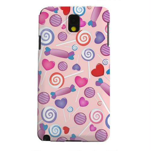 Geeks Designer Line (GDL) Samsung Galaxy Note 3 Matte Hard Back Cover - Assorted Candy