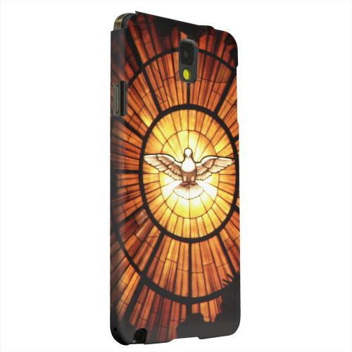 Geeks Designer Line (GDL) Samsung Galaxy Note 3 Matte Hard Back Cover - Holy Spirit Glass