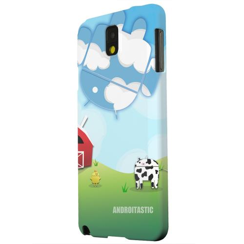 Geeks Designer Line (GDL) Samsung Galaxy Note 3 Matte Hard Back Cover - Old McDroidald Had a Farm