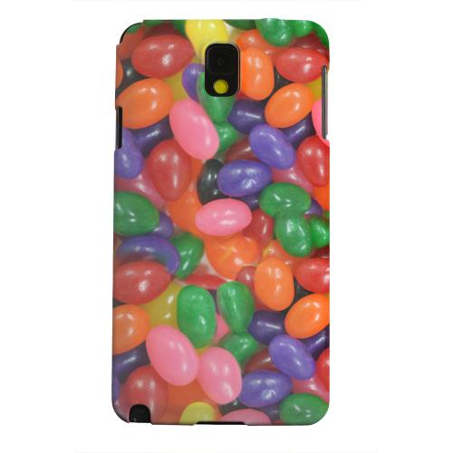 Geeks Designer Line (GDL) Samsung Galaxy Note 3 Matte Hard Back Cover - Assorted Jelly Beans