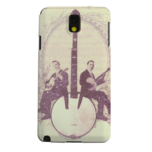 Geeks Designer Line (GDL) Samsung Galaxy Note 3 Matte Hard Back Cover - Folk