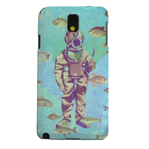 Geeks Designer Line (GDL) Samsung Galaxy Note 3 Matte Hard Back Cover - Bloop Bloop