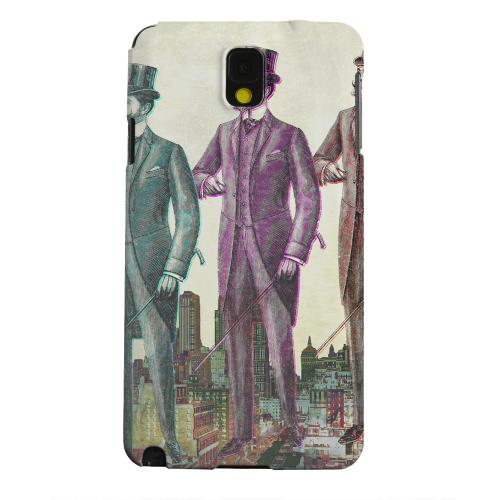 Geeks Designer Line (GDL) Samsung Galaxy Note 3 Matte Hard Back Cover - New York Like A Sir