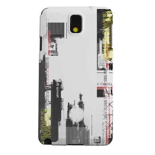 Geeks Designer Line (GDL) Samsung Galaxy Note 3 Matte Hard Back Cover - Industrial District