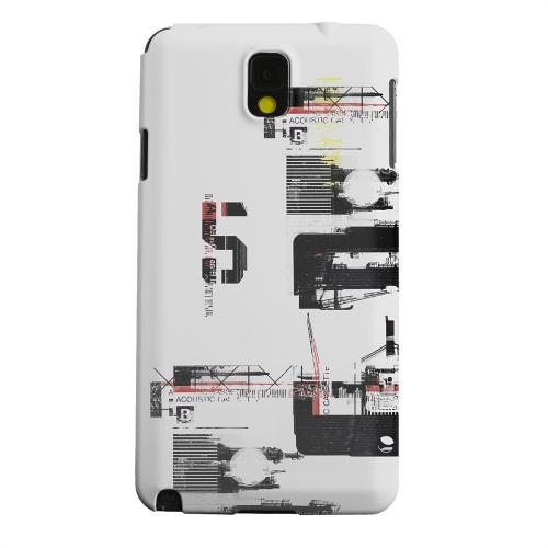 Geeks Designer Line (GDL) Samsung Galaxy Note 3 Matte Hard Back Cover - District 5