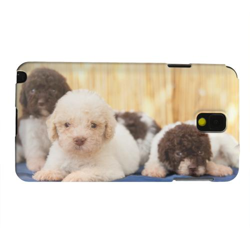 Geeks Designer Line (GDL) Samsung Galaxy Note 3 Matte Hard Back Cover - Three Buddies