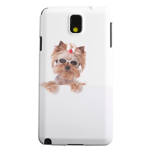 Geeks Designer Line (GDL) Samsung Galaxy Note 3 Matte Hard Back Cover - Yorkshire Terrier