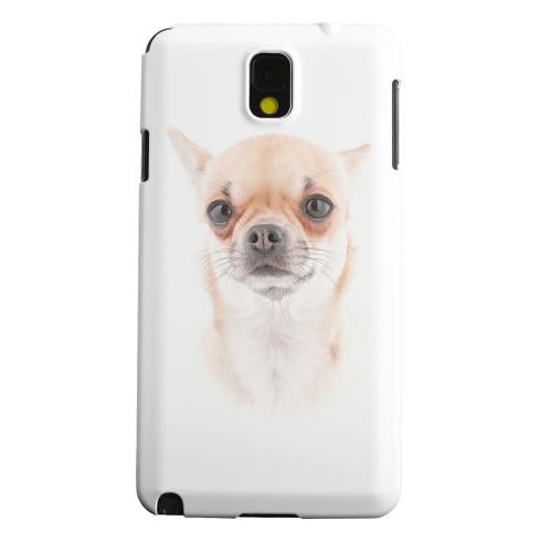 Geeks Designer Line (GDL) Samsung Galaxy Note 3 Matte Hard Back Cover - Chihuahua
