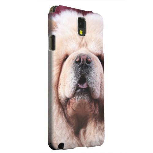 Geeks Designer Line (GDL) Samsung Galaxy Note 3 Matte Hard Back Cover - Chow Chow