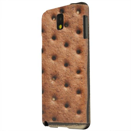 Geeks Designer Line (GDL) Samsung Galaxy Note 3 Matte Hard Back Cover - Ice Cream Sandwich