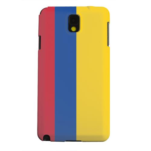 Geeks Designer Line (GDL) Samsung Galaxy Note 3 Matte Hard Back Cover - Colombia