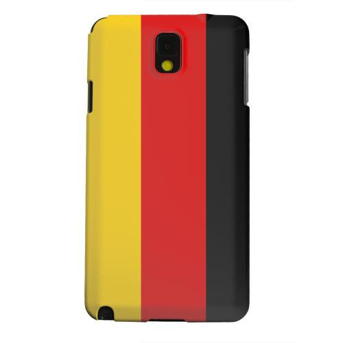 Geeks Designer Line (GDL) Samsung Galaxy Note 3 Matte Hard Back Cover - Germany