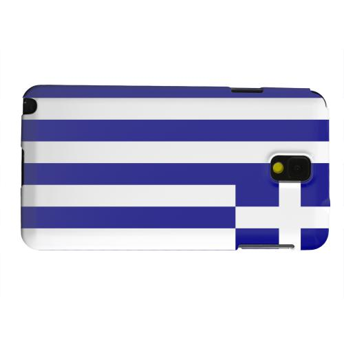 Geeks Designer Line (GDL) Samsung Galaxy Note 3 Matte Hard Back Cover - Greece