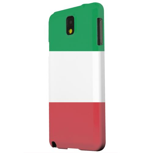Geeks Designer Line (GDL) Samsung Galaxy Note 3 Matte Hard Back Cover - Italy