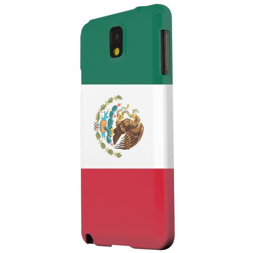 Geeks Designer Line (GDL) Samsung Galaxy Note 3 Matte Hard Back Cover - Mexico