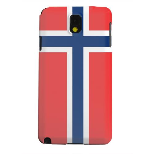 Geeks Designer Line (GDL) Samsung Galaxy Note 3 Matte Hard Back Cover - Norway