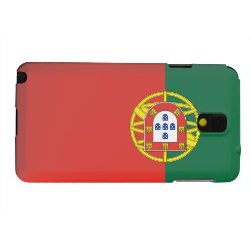 Geeks Designer Line (GDL) Samsung Galaxy Note 3 Matte Hard Back Cover - Portugal