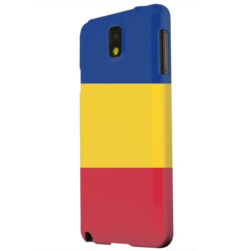 Geeks Designer Line (GDL) Samsung Galaxy Note 3 Matte Hard Back Cover - Romania
