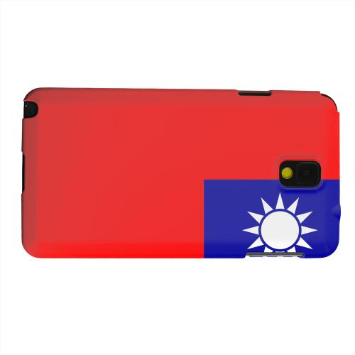 Geeks Designer Line (GDL) Samsung Galaxy Note 3 Matte Hard Back Cover - Taiwan
