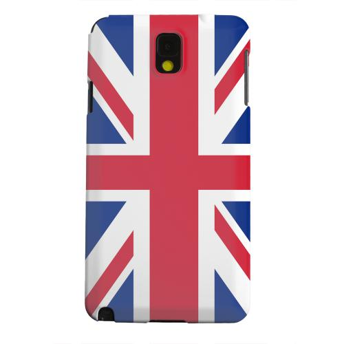 Geeks Designer Line (GDL) Samsung Galaxy Note 3 Matte Hard Back Cover - United Kingdom