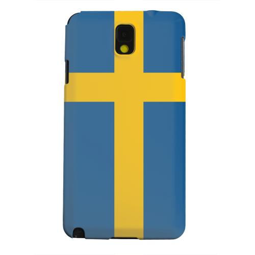 Geeks Designer Line (GDL) Samsung Galaxy Note 3 Matte Hard Back Cover - Sweden