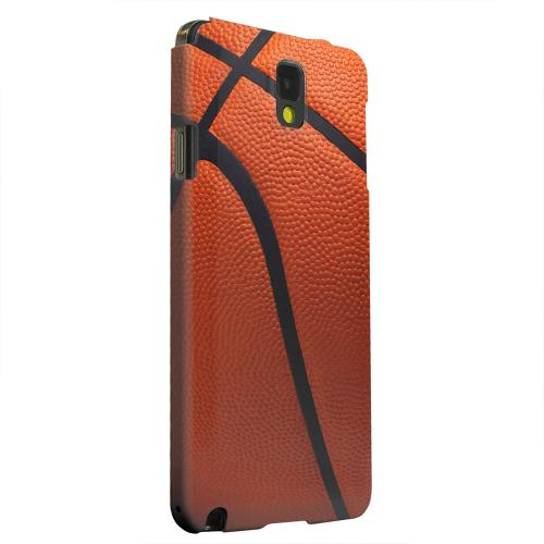 Geeks Designer Line (GDL) Samsung Galaxy Note 3 Matte Hard Back Cover - Basketball