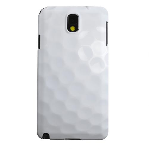 Geeks Designer Line (GDL) Samsung Galaxy Note 3 Matte Hard Back Cover - Golf Ball