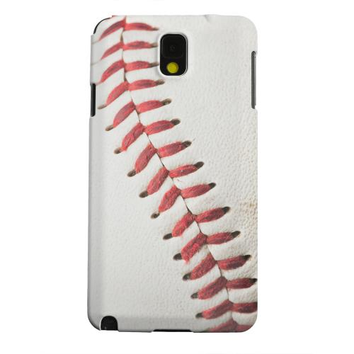 Geeks Designer Line (GDL) Samsung Galaxy Note 3 Matte Hard Back Cover - Baseball