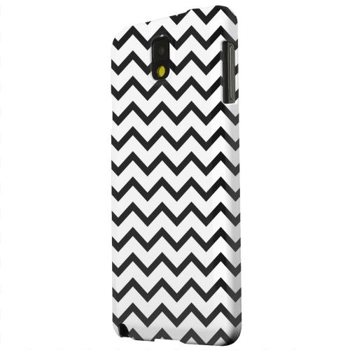 Geeks Designer Line (GDL) Samsung Galaxy Note 3 Matte Hard Back Cover - Black on White