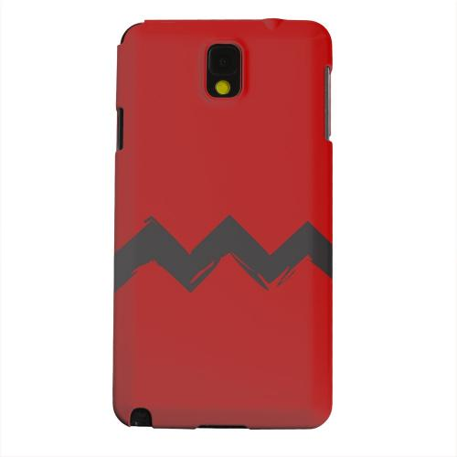 Geeks Designer Line (GDL) Samsung Galaxy Note 3 Matte Hard Back Cover - Red Good Grief!