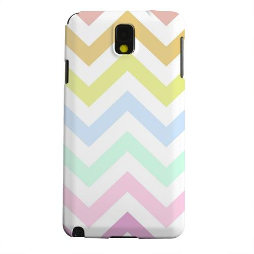 Geeks Designer Line (GDL) Samsung Galaxy Note 3 Matte Hard Back Cover - Pastel on White