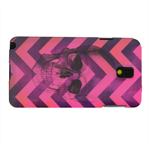 Geeks Designer Line (GDL) Samsung Galaxy Note 3 Matte Hard Back Cover - Pink Space Death
