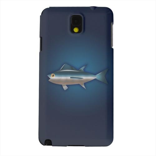 Geeks Designer Line (GDL) Samsung Galaxy Note 3 Matte Hard Back Cover - Bluefin Tuna